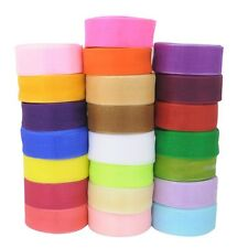 1 Roll 50 Yards 45 Meters 40mm Width Sheer Organza Ribbon For Craft Wedding New