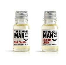 24 Scents Available Beard Oil Conditioner Male Grooming Gift Husband 2 x 10ml