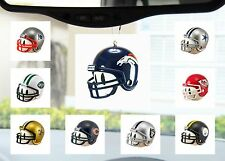 NFL Football Helmet Auto Ornament for Mirror or Antenna Topper -Pick your team!