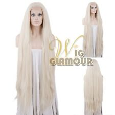 """Long Straight 18""""-39"""" Light Blonde Lace Front Wig Heat Resistant"""
