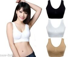 Seamless Bra set of three Black, White or Nude colors