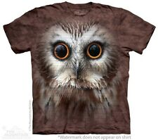 Saw Whet Owl Kids T-Shirt from The Mountain. Cute Bird Childrens NEW