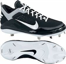 New! Cheap! Men's Metal Baseball Cleats-Name Brand-Low cut Black