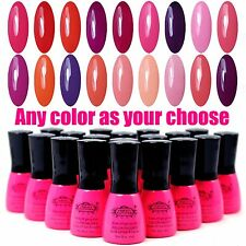 ANY 240 COLOR AS YOUR CHOOSE Perfect Summer UV Gel Glitters Nail Polish Soak Off