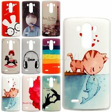 Colored Pattern Hard Plastic Cover Case Skin For LG Optimus G3