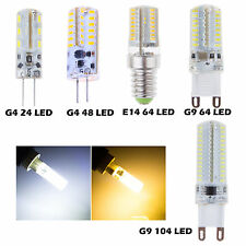 3W 4W 5W 7W G4 G9 E14 SMD 3014 LED Cool/Warm White Lamp Bulbs Corn Light Lots