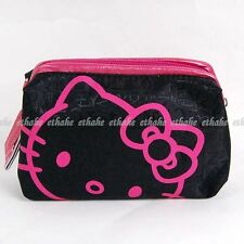 Hello Kitty Makeup Case Pencil Purse Cosmetic Bag Pouch