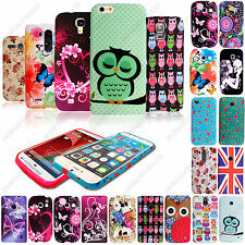 New Printed Silicone Rubber Gel Back Case Cover For Various Phones + Free Stylus