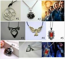 City of Bones Necklace The Mortal Instruments Angelic Power Isabelle + Gift Box