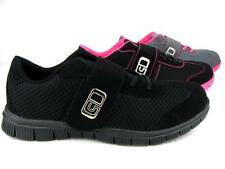 Women's Velcro Lace Athletic Sneakers Light Weight Walking Running Gym Shoes