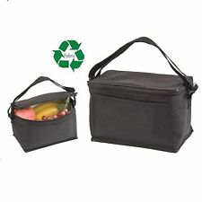 INSULATED RECYCLED COOLER PICNIC BEER DRINK WATER LUNCH BAG BAGS BOX 8-1/2 X 6""