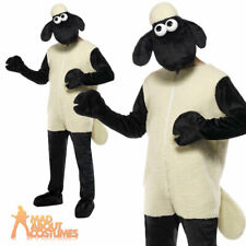 Shaun the Sheep Costume Licensed Farm Animal Fancy Dress Outfit New