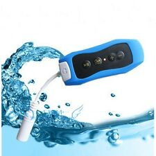 NEW Waterproof Sport Clip Mp3 Music Player w/ FM Radio Swimming Surfing SPA IPX8