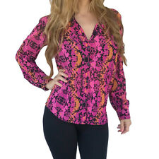 L'Amour Nanette Lepore Open Back Chiffon Shirt New Junior Sizes MSRP $34.00