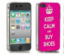 Keep Calm & Buy Shoes Iphone Case (Fits 4/4s,5/5s,5c)