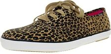 Keds Women's Champion Leopard Heart Ankle-High Fabric Fashion Sneaker