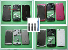 Original Housing Cover Case For Sony Ericsson Xperia Arc S LT15i LT18i X12 +Tool