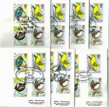 ABBEY 1980 BRITISH BIRDS LIMITED EDITION COVER WITH HANDSTAMPS-MULTI LISTING