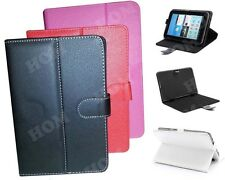 HOM Leather Flip Diary Case Cover Pouch Stand 8 inch For Dell Venue 8 Pro