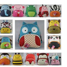 Hot BABY Toddlers Kid ZOO ANIMAL BACKPACK BAG/SCHOOL BAG ASSORTED For Child Gift