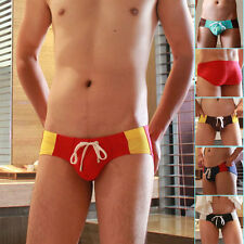Sexy Men's SUMMER Swimwear Boxer Swimming Trunks Shorts Beach Brief Pants M L XL