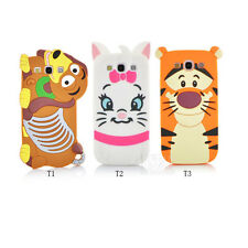 Hot sale 3D Cartoon Silicone Skin Case Cover for Samsung  Galaxy S III S3 i9300