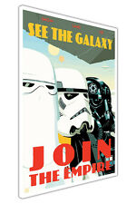 STAR WARS JOIN THE EMPIRE KIDS CANVAS QUOTE WALL ART PICTURES POSTERS PRINTS