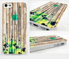 iPhone 4,4s, 5C, 5S,5,cover Case,abstract,retro,geometric, dots,pic of wood.