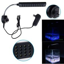 48LEDs Aquarium Fish Tank LED Clip Light Lamp Coral Reef Lighting With 3 Modes