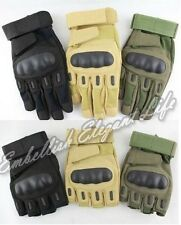 Outdoor Airsoft Military Tactical Knuckle Hunting Cycling Motorcycle Gloves
