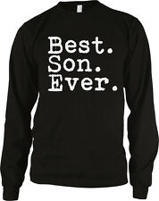 Best Son Ever Family Birthday Gift Holiday Present Idea Long Sleeve Thermal