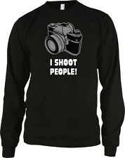 I Shoot People Photographer Funny Camera Instagram Picture Long Sleeve Thermal
