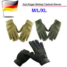 Hot Full finger Military Tactical Airsoft Riding Game Gloves Outdoor Sports Ger