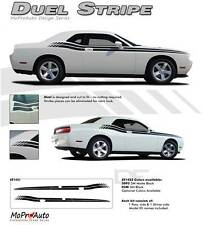 Dual Side Body Line Strobe 3M Stripe Graphic Decal RT 2008-2014 Dodge Challenger