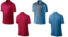 Nike Golf 2014 Tiger Woods Print Polo - Blue & Red (M, L, XL) MSRP $95