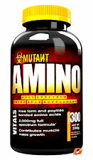 PVL MUTANT AMINO ACID 300 TABLETS FULL SPECTRUM PEPTIDE FREE  150 SERVINGS
