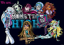 We Are Monster High Photo Wallpaper Wall Mural (CN-982VE)