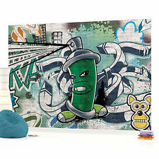 WALL MURAL PHOTO WALLPAPER (1396VEVE) Graffiti Boys Urban Art