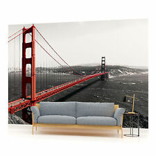San Francisco Golden Gate Bridge Photo Wallpaper Wall Mural (CN-154VE)