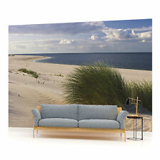 Sandy Beach Photo Wallpaper Wall Mural (CN-655VE)