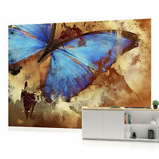 Butterfly Vintage Print Photo Wallpaper Wall Mural (CN-192P)