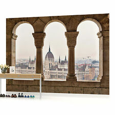 City View from Terrace Photo Wallpaper Wall Mural (CN-409P)