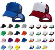 50 DECKY VINTAGE NEW TRUCKER HAT HATS CAP CAPS SNAPBACK WHOLESALE BULK LOT
