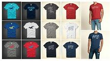 New Hollister by Abercrombie Men Capo Beach Graphic T-Shirt Crew neck Muscle Fit