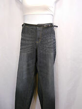 Cato Sequin Front Detail Belted Distressed Jeans Plus Size 24W 28W
