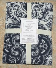 WILLIAMS SONOMA ~ LYON MEDALLION TABLECLOTH ~ IN NAVY BUT I HAVE OTHER COLORS