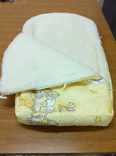 AUSTRALIAN MERINOWOOL WITH 100%COTTON SLEEPING BAG FOR BABY  PUSHCHAIR WOOL4YOU