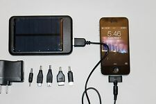 Universal 7200mAh solar charger battery iPhone Samsung galaxy smartphone tablets
