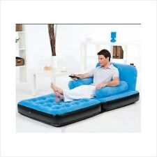 Inflatable Chair Adults Kids Teens Air Bed Dorm Room Furniture Lounger Sleeper