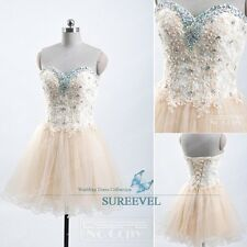 New Fashion Beaded Sheath Mini Party Dress Homecoming Dress Prom Gown under 100